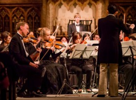 研究を通じてお手伝いをさせていただいたHokusai Orchestraの東日本大震災チャリティコンサートの様子