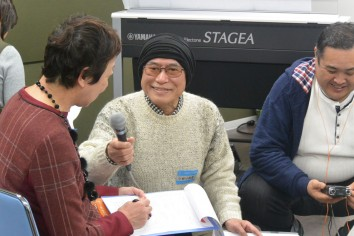 和歌山ラジオ番組取材