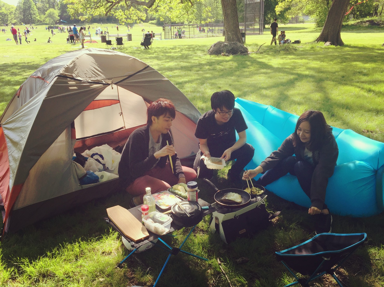 Picnick in the park